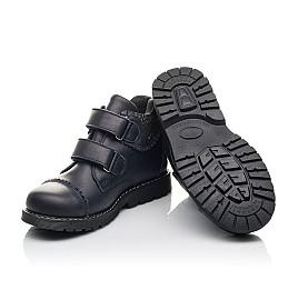 Детские  Woopy Fashion черные для девочек натуральная кожа размер 31-39 (4402) Фото 2