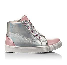Детские  Woopy Fashion розовые для девочек натуральная кожа размер 22-30 (4403) Фото 4