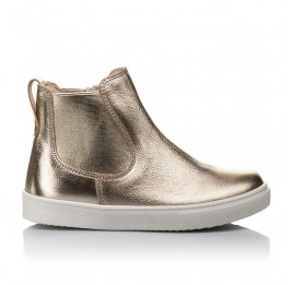Детские демісезонні черевики Woopy Fashion золотые для девочек натуральная кожа размер 23-32 (4404) Фото 4