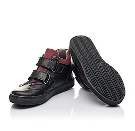Детские демисезонные ботинки Woopy Fashion черные для мальчиков натуральная кожа размер 24-38 (4406) Фото 2