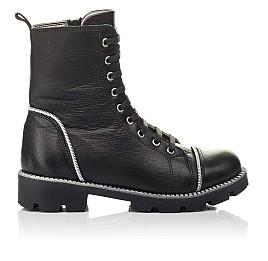 Детские зимові черевики на хутрі Woopy Fashion черные для девочек натуральная кожа размер 33-40 (4413) Фото 4