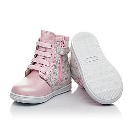 Детские зимние ботинки на меху Woopy Fashion розовые для девочек натуральная кожа размер 20-33 (4422) Фото 3