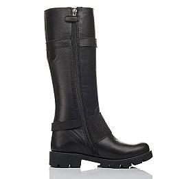 Детские демісезонні чоботи Woopy Fashion черные для девочек натуральная кожа размер 37-40 (4425) Фото 5