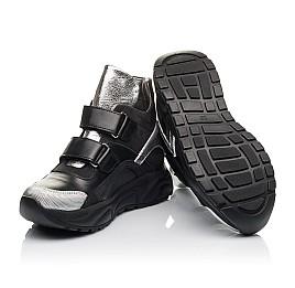 Детские демісезонні черевики Woopy Orthopedic черные для девочек натуральный нубук размер 28-28 (4440) Фото 2