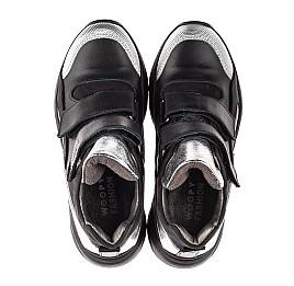 Детские демісезонні черевики Woopy Orthopedic черные для девочек натуральный нубук размер 28-28 (4440) Фото 5