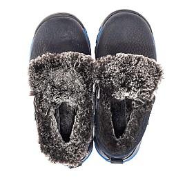 Детские зимові черевики Woopy Fashion синие для мальчиков натуральный нубук размер 21-33 (4444) Фото 5
