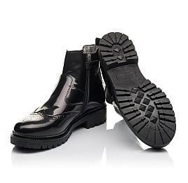 Детские демісезонні черевики Woopy Fashion черные для девочек натуральная лаковая кожа размер 36-39 (4453) Фото 2