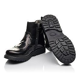 Детские демісезонні черевики Woopy Fashion черные для девочек  натуральная кожа размер 32-35 (4460) Фото 2