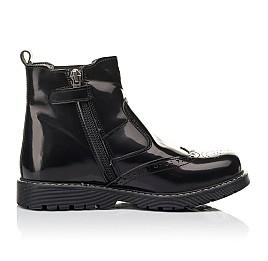 Детские демісезонні черевики Woopy Fashion черные для девочек  натуральная кожа размер 32-35 (4460) Фото 5