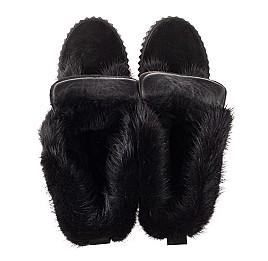 Детские зимние сапоги на меху Woopy Orthopedic черные для девочек натуральная замша размер 34-40 (4468) Фото 5
