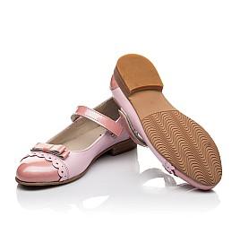 Детские туфли Woopy Fashion розовые для девочек натуральная кожа / лаковая кожа размер 31-36 (4488) Фото 2
