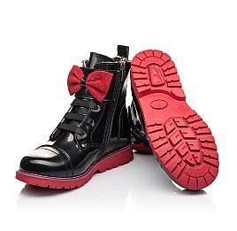 Детские зимние ботинки на меху Woopy Fashion черные для девочек натуральная кожа размер 34-38 (4489) Фото 2