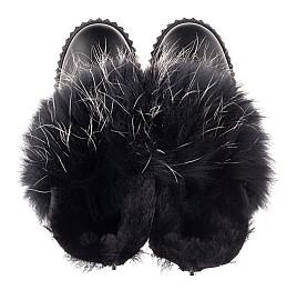 Детские угги Woopy Fashion черные для девочек натуральная кожа размер 32-32 (4499) Фото 5