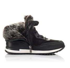 Детские зимние ботинки на меху Woopy Fashion синие для мальчиков натуральная кожа размер 33-39 (4509) Фото 5