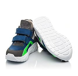 Детские демисезонные ботинки (внутри кожа) Woopy Fashion разноцветные для мальчиков натуральный нубук размер 29-36 (5005) Фото 2