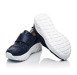 Детские кроссовки Woopy Fashion синие для девочек натуральный нубук размер 31-39 (5007) Фото 2