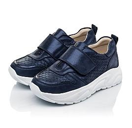 Детские кроссовки Woopy Fashion синие для девочек натуральный нубук размер 26-39 (5007) Фото 3