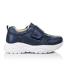 Детские кроссовки Woopy Fashion синие для девочек натуральный нубук размер 26-39 (5007) Фото 4