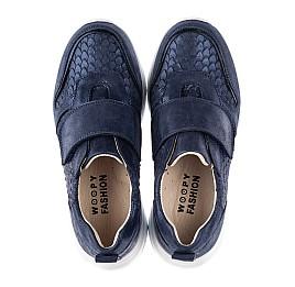 Детские кроссовки Woopy Fashion синие для девочек натуральный нубук размер 26-39 (5007) Фото 5