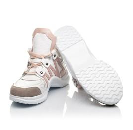 Детские кроссовки Woopy Fashion белые для девочек натуральная кожа размер 36-39 (5011) Фото 2