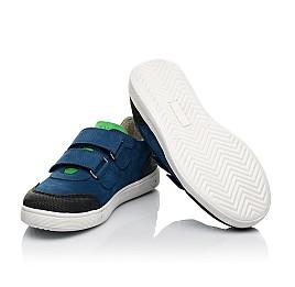 Детские кеды Woopy Fashion синие для мальчиков натуральный нубук размер 29-39 (5025) Фото 2
