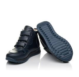 Детские демісезонні черевики (всередині шкіра) Woopy Fashion синие для мальчиков натуральная кожа размер 22-39 (5027) Фото 2