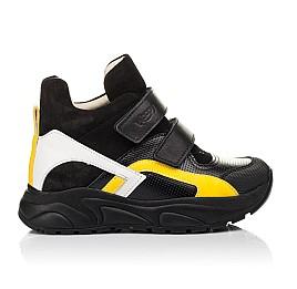 Детские демисезонные ботинки (подкладка кожа) Woopy Fashion черные для мальчиков натуральная кожа, нубук и замша размер 25-38 (5028) Фото 4