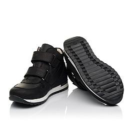 Детские демісезонні черевики (всередині шкіра) Woopy Fashion черные для девочек натуральный нубук и искусственный материал размер 28-39 (5029) Фото 2