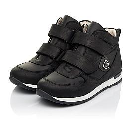 Детские демісезонні черевики (всередині шкіра) Woopy Fashion черные для девочек натуральный нубук и искусственный материал размер 28-39 (5029) Фото 3