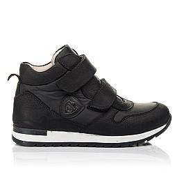 Детские демісезонні черевики (всередині шкіра) Woopy Fashion черные для девочек натуральный нубук и искусственный материал размер 28-39 (5029) Фото 4