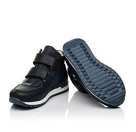 Детские демісезонні черевики (всередині шкіра) Woopy Fashion синие для девочек нубук OIL, водонепроницаемая плащевка размер 21-39 (5030) Фото 2