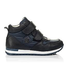 Детские демісезонні черевики (всередині шкіра) Woopy Fashion синие для девочек нубук OIL, водонепроницаемая плащевка размер 21-39 (5030) Фото 4