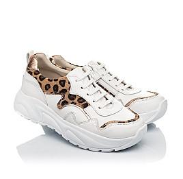 Детские кроссовки Woopy Fashion белые для девочек натуральная кожа размер 34-40 (5033) Фото 1