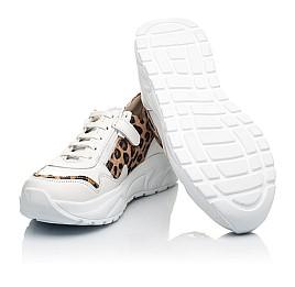 Детские кроссовки Woopy Fashion белые для девочек натуральная кожа размер 34-40 (5033) Фото 2