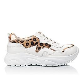 Детские кроссовки Woopy Fashion белые для девочек натуральная кожа размер 34-40 (5033) Фото 4
