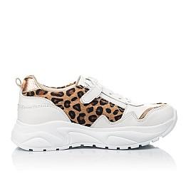 Детские кроссовки Woopy Fashion белые для девочек натуральная кожа размер 34-40 (5033) Фото 5