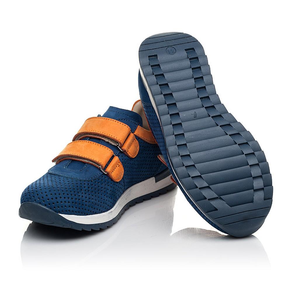 Детские кроссовки Woopy Fashion синие для мальчиков натуральный нубук размер 28-38 (5050) Фото 2