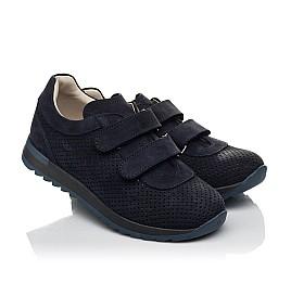 Детские кроссовки Woopy Fashion синие для мальчиков натуральный нубук размер 29-39 (5052) Фото 1