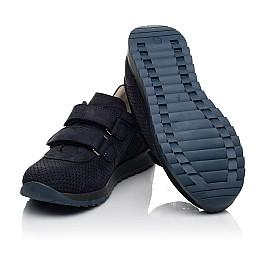 Детские кроссовки Woopy Fashion синие для мальчиков натуральный нубук размер 29-39 (5052) Фото 2