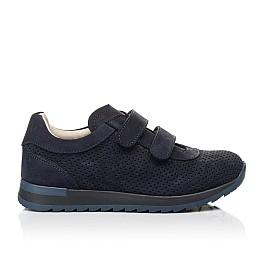 Детские кроссовки Woopy Fashion синие для мальчиков натуральный нубук размер 29-39 (5052) Фото 4