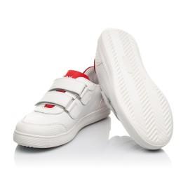 Детские кеды Woopy Fashion белые для девочек натуральная кожа размер 29-38 (5053) Фото 2