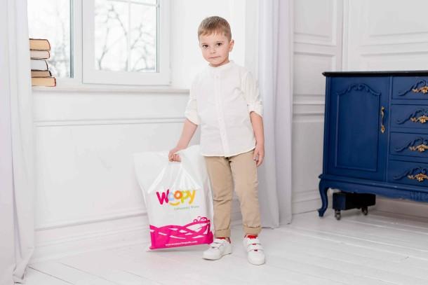 Девочка обута в детские кеды Woopy Fashion белые (5053) Фото 1