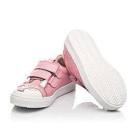 Детские кеды Woopy Fashion розовые для девочек натуральный нубук размер 18-33 (5057) Фото 5