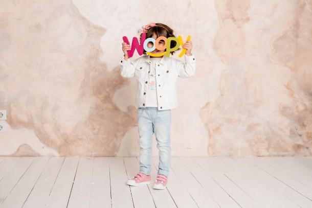 Девочка обута в детские кеды Woopy Fashion розовые (5057) Фото 1