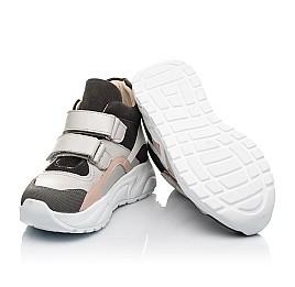 Детские демисезонные ботинки (подкладка кожа) Woopy Fashion серые для девочек натуральная кожа, нубук и замша размер 26-39 (5058) Фото 2