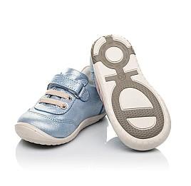 Детские кроссовки Woopy Fashion голубые для девочек натуральный нубук размер 19-25 (5062) Фото 2