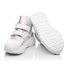 Детские демисезонные ботинки (подкладка кожа) Woopy Fashion серебряные для девочек натуральная кожа размер 27-40 (5070) Фото 2