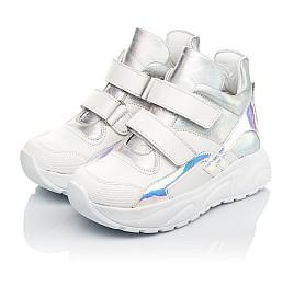 Детские демисезонные ботинки (подкладка кожа) Woopy Fashion серебряные для девочек натуральная кожа размер 27-40 (5070) Фото 3