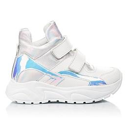 Детские демисезонные ботинки (подкладка кожа) Woopy Fashion серебряные для девочек натуральная кожа размер 27-40 (5070) Фото 4