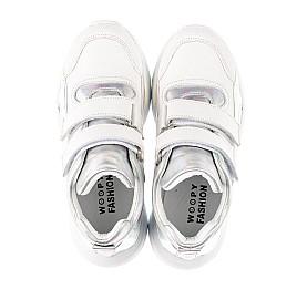 Детские демисезонные ботинки (подкладка кожа) Woopy Fashion серебряные для девочек натуральная кожа размер 27-40 (5070) Фото 5